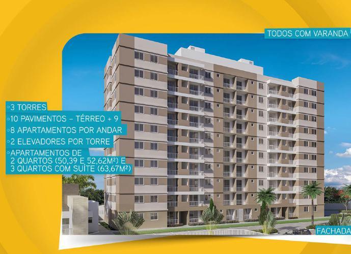 Varandas J Rodrigues - Apartamento em Lançamentos no bairro Centro - Barra dos Coqueiros, SE - Ref: VJ-21046