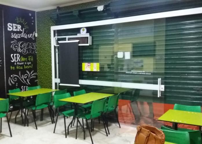 Franquia de Fast Food no Centro de Santo André.