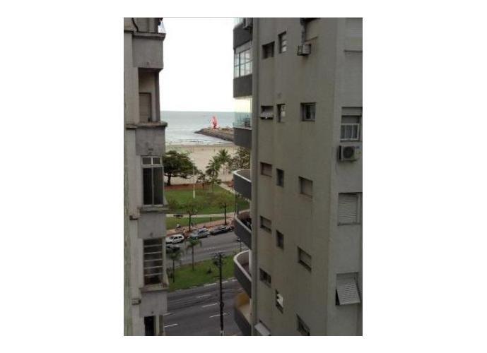 Apartamento em Praia Do José Menino/SP de 76m² 1 quartos para locação R$ 1.550,00/mes