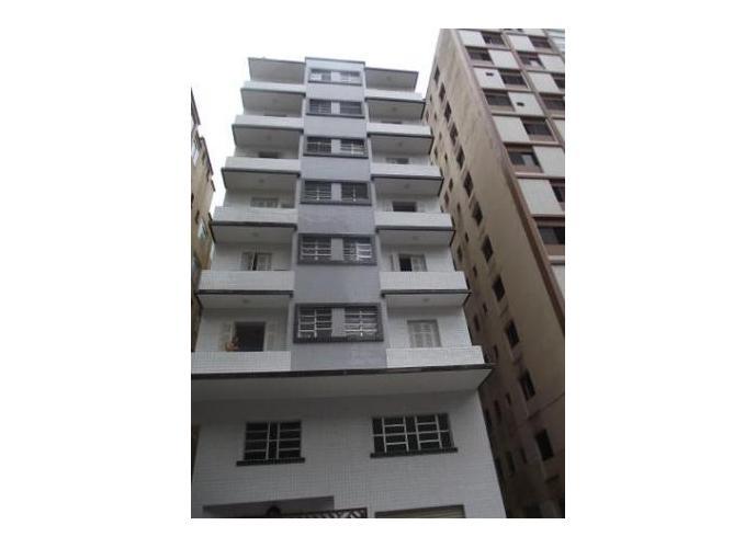 CHARMOSO apartamento para alugar no José Menino, Santos.