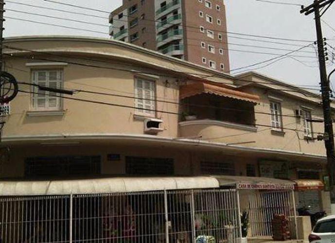 Apartamento para alugar no Boqueirão, Santos.
