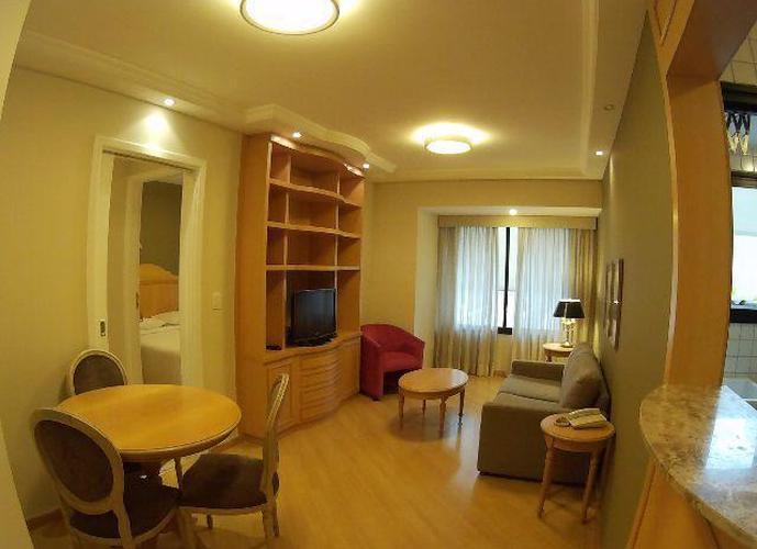 Flat em Indianópolis/SP de 0m² 1 quartos para locação R$ 2.200,00/mes