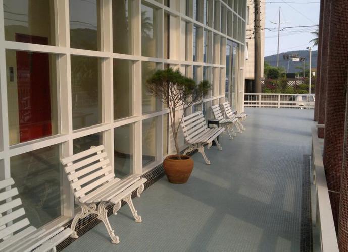 Apartamento em Ponta Da Praia/SP de 90m² 2 quartos para locação R$ 2.500,00/mes