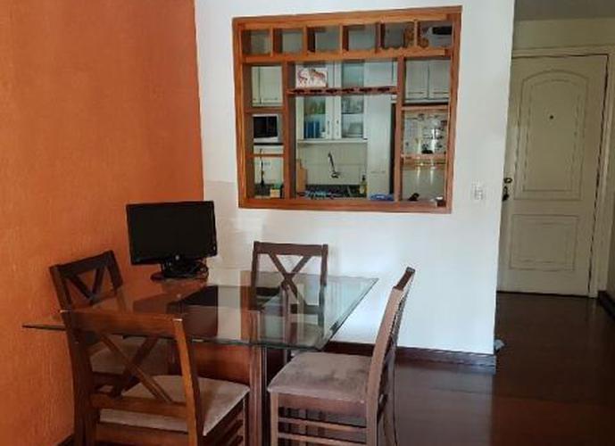 Apartamento em Moema/SP de 60m² 2 quartos para locação R$ 2.700,00/mes