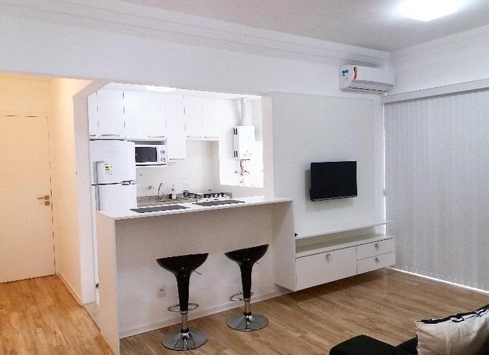 Apartamento em Boqueirão/SP de 47m² 1 quartos para locação R$ 2.890,00/mes