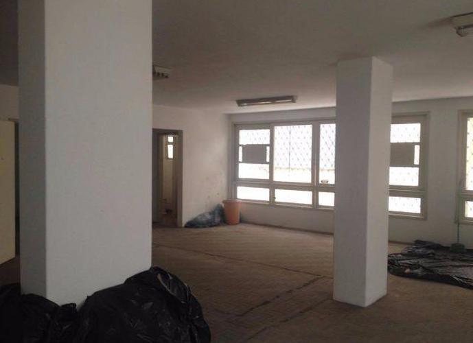 Sala em Gonzaga/SP de 100m² para locação R$ 2.900,00/mes