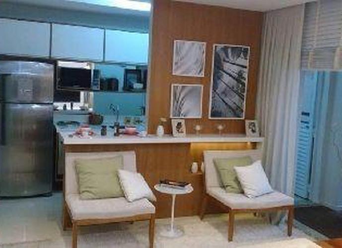 Way Orquidário 3 dormitórios * Apartamento  residencial à venda, Marapé, Santos.