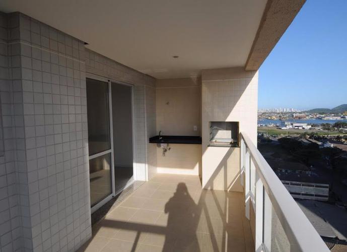 Apartamento em Ponta Da Praia/SP de 92m² 3 quartos a venda por R$ 509.000,00 ou para locação R$ 3.200,00/mes
