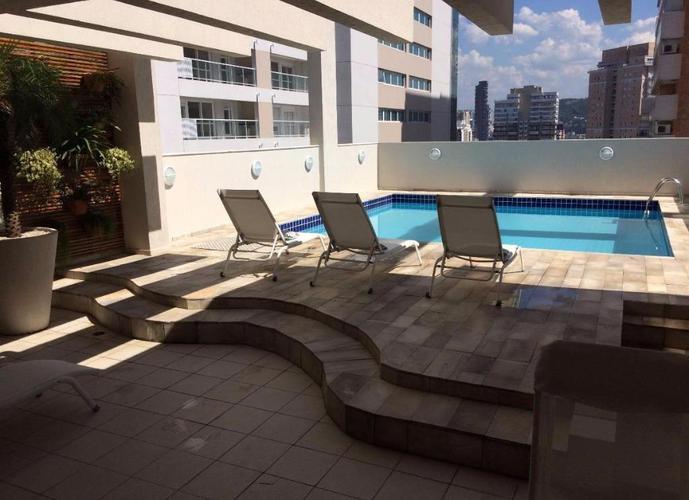 Apartamento Duplex  residencial para locação, Gonzaga, Santos.