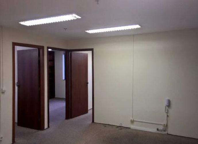 Conjunto em Brooklin Paulista/SP de 84m² para locação R$ 3.400,00/mes