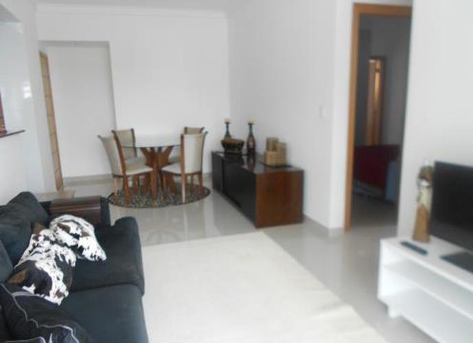 Apartamento  residencial para locação, José Menino, Santos.