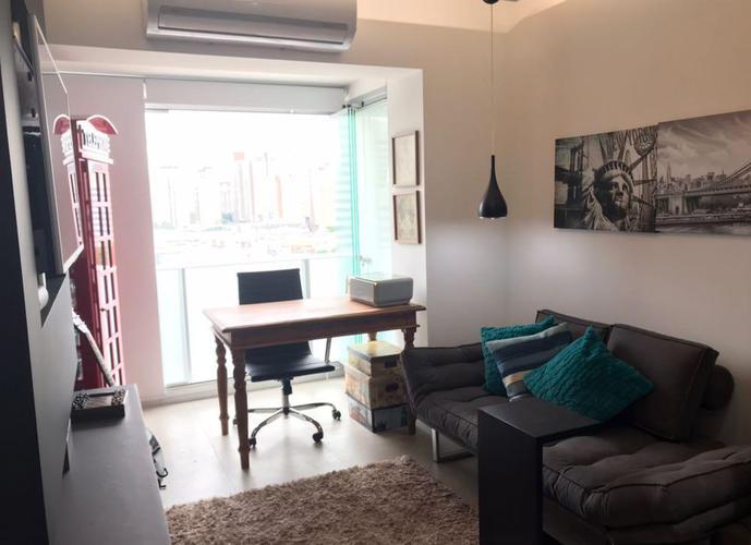 Apartamento em Santo Amaro/SP de 35m² 1 quartos para locação R$ 3.800,00/mes