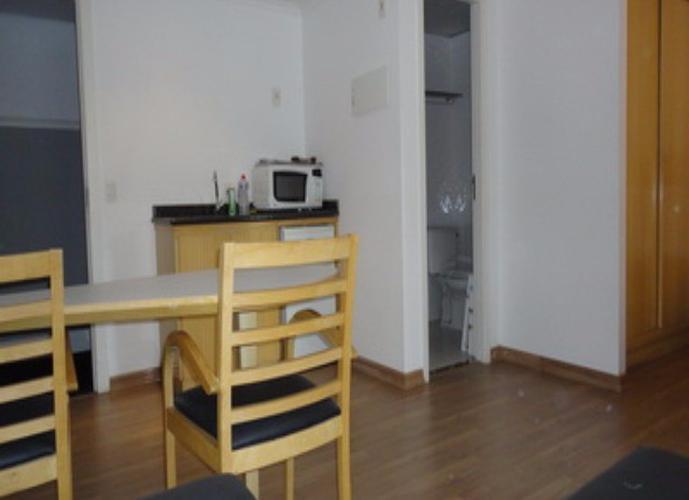 Flat em Moema/SP de 35m² 1 quartos para locação R$ 1.700,00/mes