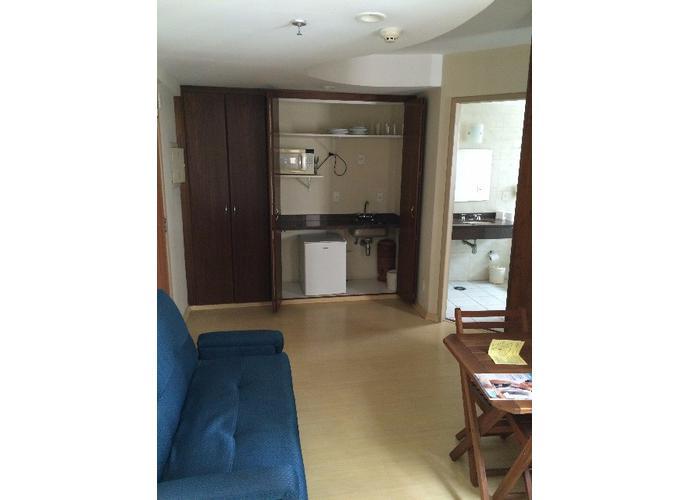 Flats para locação no bairro do Brooklin 1 dormitório 1 vaga