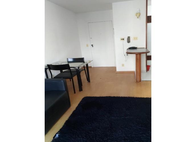 Flat em Moema/SP de 35m² 1 quartos para locação R$ 1.800,00/mes