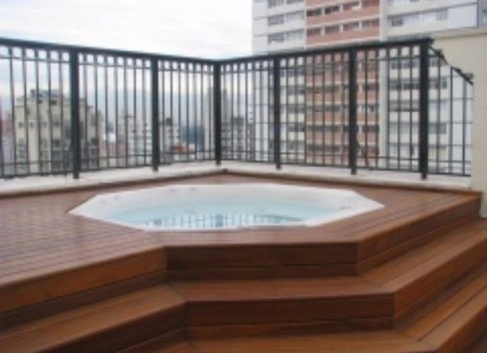 Apartamento em Jardins/SP de 27m² 1 quartos para locação R$ 1.900,00/mes