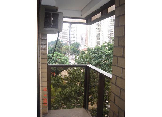 Flat em Moema/SP de 40m² 1 quartos para locação R$ 1.900,00/mes