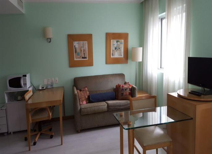 Flat em Pinheiros/SP de 30m² 1 quartos para locação R$ 2.000,00/mes