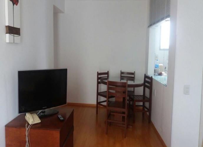 Flat em Vila Nova Conceição/SP de 40m² 1 quartos para locação R$ 2.000,00/mes