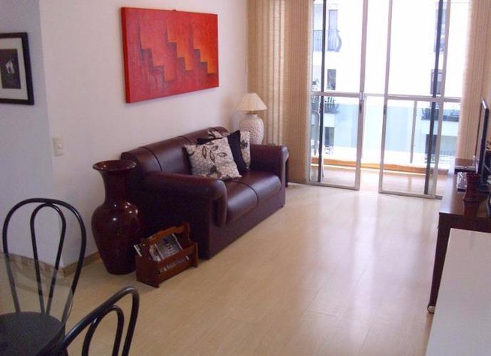 Flats para locação no bairro Vila Nova Conceição 1 dormitório 1 vaga