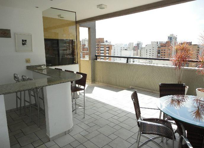 Flat em Moema/SP de 35m² 1 quartos para locação R$ 2.100,00/mes