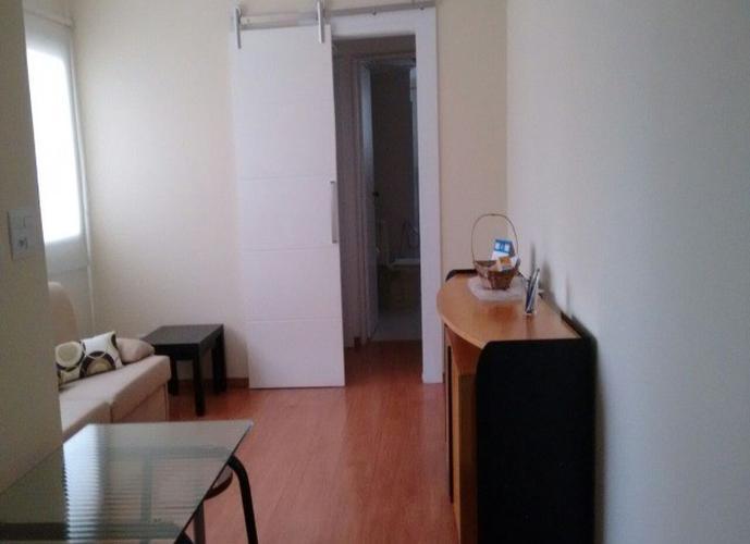 Flat em Moema/SP de 40m² 1 quartos para locação R$ 2.100,00/mes