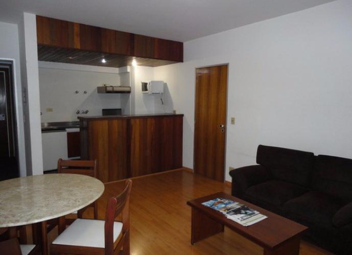 Flat em Alphaville/SP de 40m² 1 quartos para locação R$ 2.100,00/mes