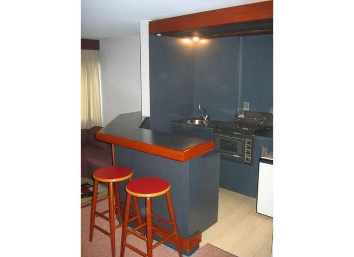 Flat em Brooklin/SP de 45m² 1 quartos para locação R$ 2.100,00/mes