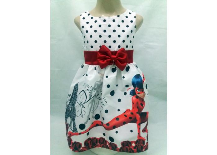 Vestido Ladybug Miraculous Festa Infantil Tema Aniversário.