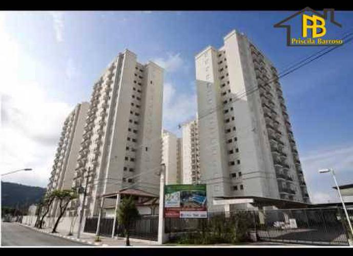 Apartamento residencial à venda, Areia Branca, Santos.