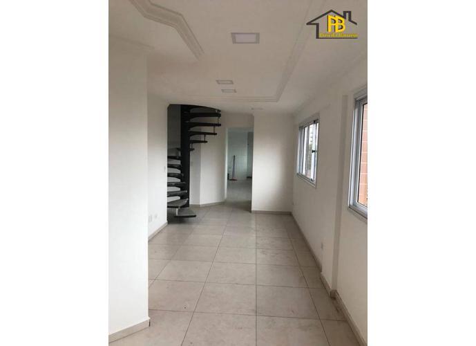 Apartamento Triplex residencial à venda, Embaré, Santos.