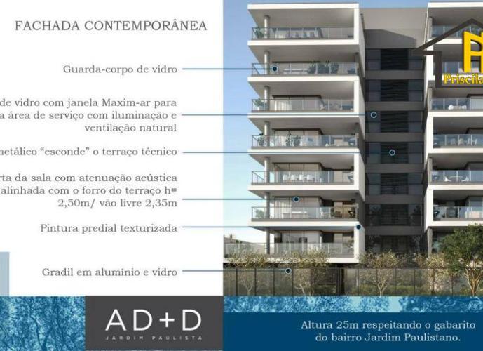 Apartamento residencial à venda, Jardins, São Paulo.