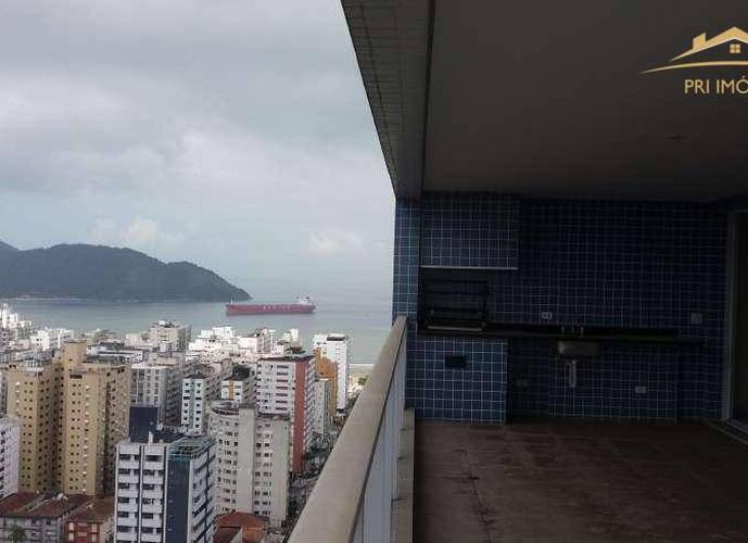 Apartamento residencial para venda e locação, Aparecida, Santos - AP0199.