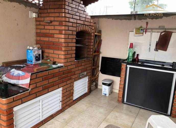 Casa residencial à venda, Santa Maria, Santos.