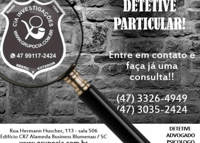 Detetive Particular 24 horas - Brasil e Exterior