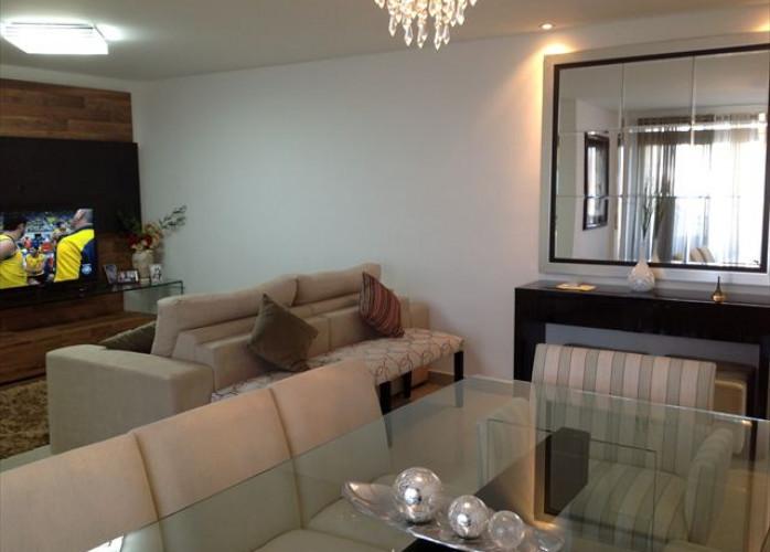 Excelente Apartamento Mobiliado 3 Dormitórios 120 m² no Bairro Campeste - Santo André. Venda ou locação.