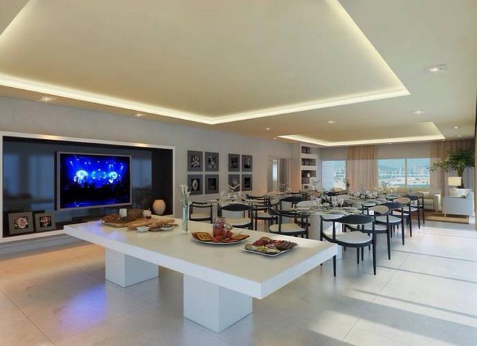 Porto Salles Residence apartamento andar alto com varanda e lazer completo