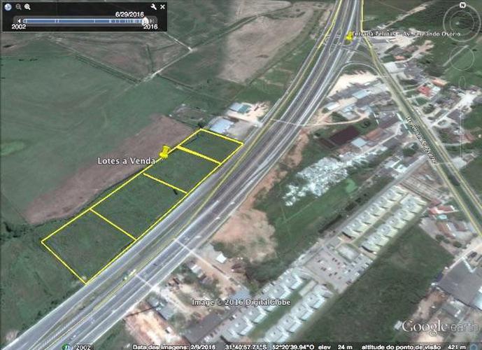 Área na BR com 1.800 m2 - Terreno a Venda no bairro Três Vendas - Pelotas, RS - Ref: 2079