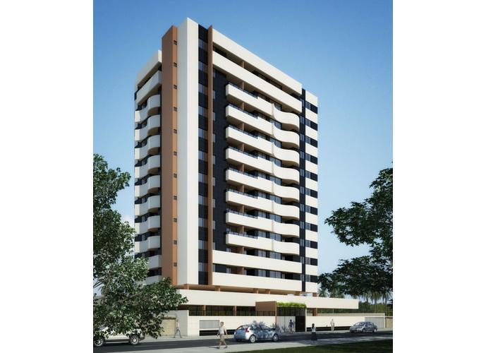 03 Quartos sendo 01 Suíte, com Varanda, 72,33m² no Farol - Apartamento a Venda no bairro Farol - Maceió, AL - Ref: PI36553