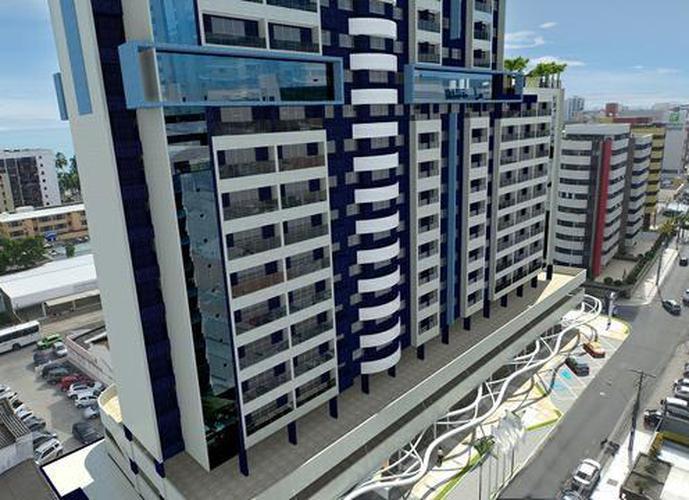 Apartamento Studio a 250 Metros da praia ÷ em 80 meses - Apartamento a Venda no bairro Ponta Verde - Maceió, AL - Ref: PI25536