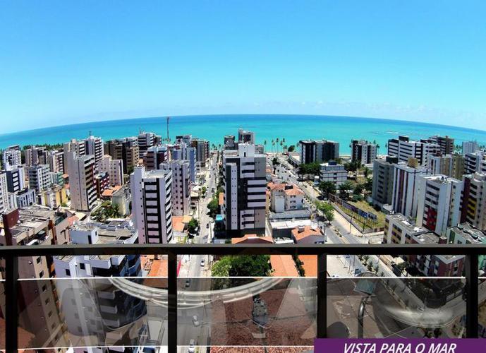 Apartamento com Vista pra o Mar ÷ 100 meses, 03 quartos - Apartamento a Venda no bairro Jatiúca - Maceió, AL - Ref: PI84319