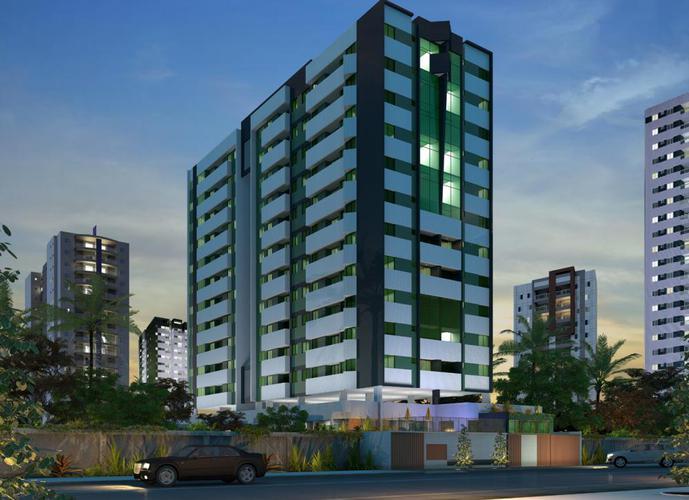 Apartamento ÷ em 100 meses e 5% de entrada - Apartamento a Venda no bairro Jatiúca - Maceió, AL - Ref: PI95272
