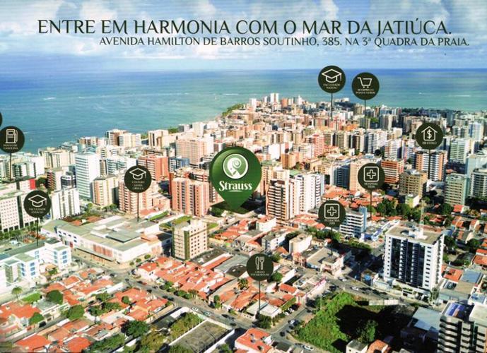 Apto Quarto/sala com Varanda, Jatiúca, em 100 meses Direto - Apartamento a Venda no bairro Jatiúca - Maceió, AL - Ref: PI27834