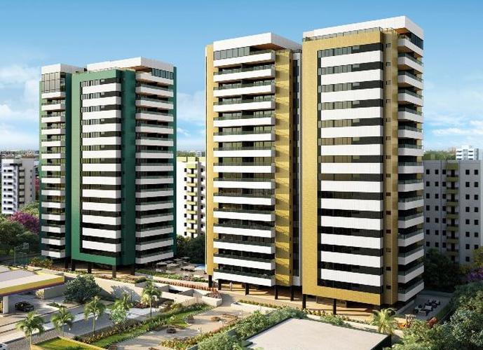 04 suítes + DCE, 135m² ÷ em 100 meses, Jatiúca - Apartamento Alto Padrão a Venda no bairro Jatiúca - Maceió, AL - Ref: PI50180