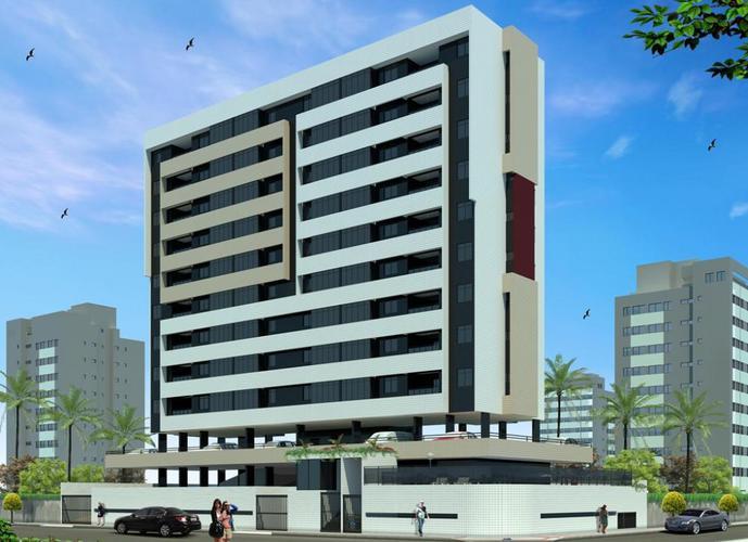Lançamento Quarto e Sala, a 170m da Praia, Cruz das Almas - Apartamento a Venda no bairro Cruz Das Almas - Maceió, AL - Ref: PI12918