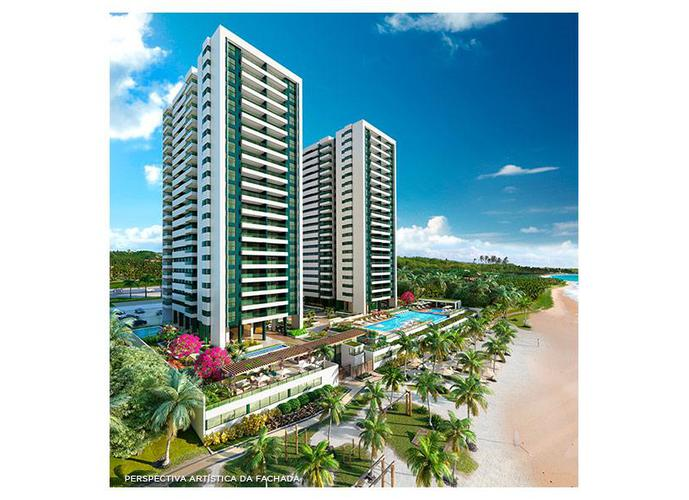 Apartamento 114m² a Beira Mar, 03 quartos, ÷ 60 meses - Apartamento a Venda no bairro Guaxuma - Maceió, AL - Ref: PI23970