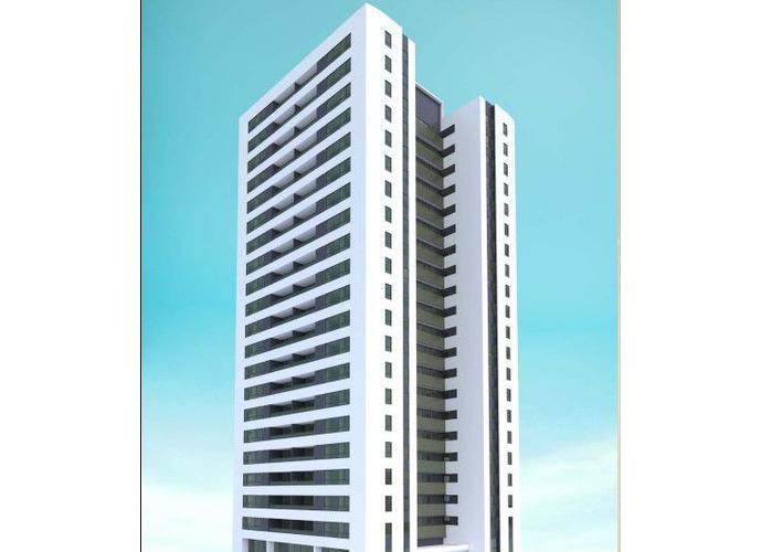 Apartamentos 4 Suítes e Varanda, em home resort a beira mar - Apartamento Alto Padrão a Venda no bairro Jacarecica - Maceió, AL - Ref: PI93844