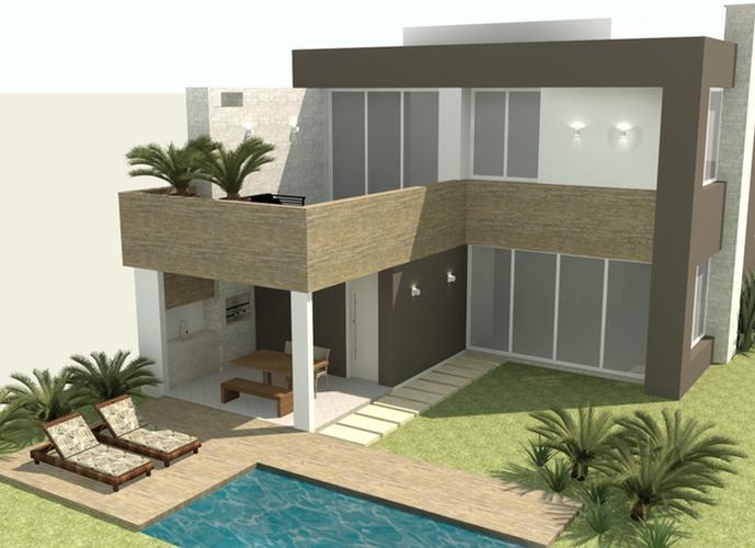 Alphaville Pelotas - Casa em Condomínio a Venda no bairro Laranjal - Pelotas, RS - Ref: 2895