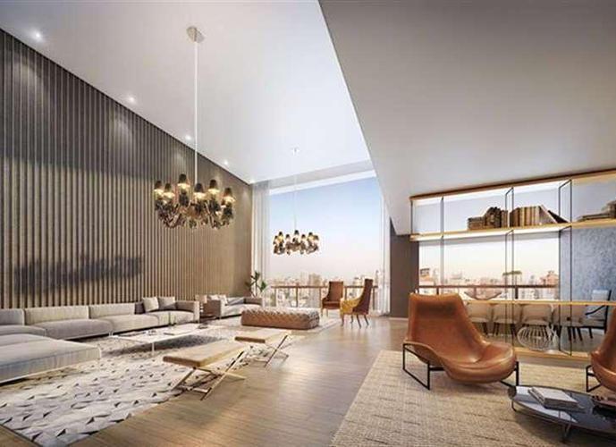 ONE SIXTY - FARIA LIMA - 343m² - Apartamento Alto Padrão em Lançamentos no bairro Região da Faria Lima - São Paulo, SP - Ref: 468231