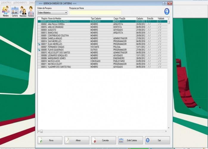 Programa para Gerenciar de Clube, Agendamento e Financeiro v2.0 fpqsystem